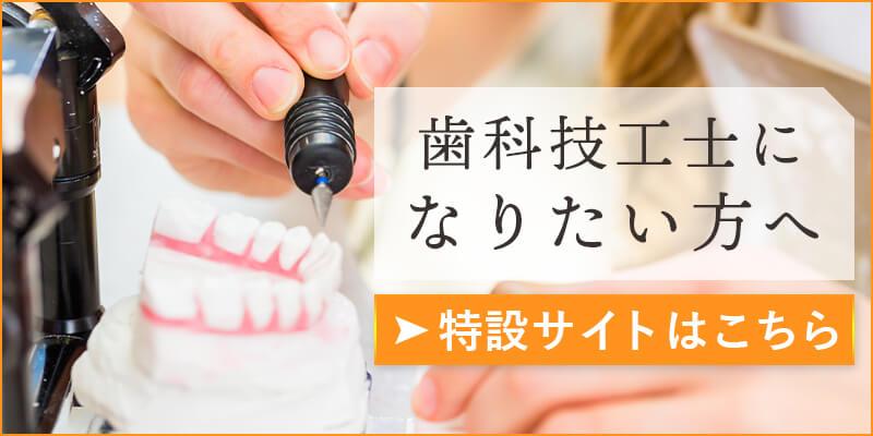 歯科技工士になりたい方へ   特設サイトはこちら